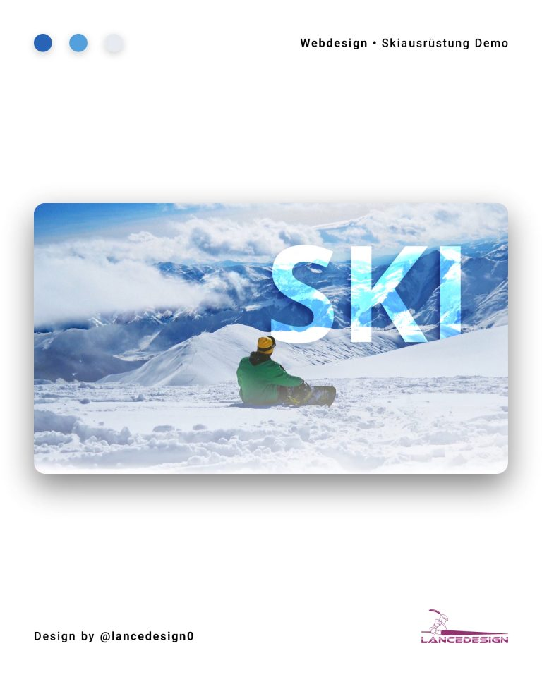 Ski Demo Website