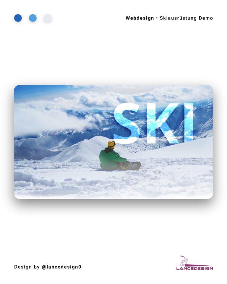 Ski Demo Website